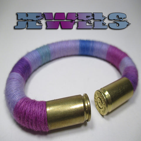 jewels 100% cotton yarn beararms bullet casings jewelry bracelets
