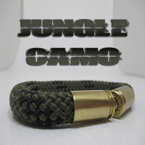 jungle camo beararms bullet casings jewelry bracelets