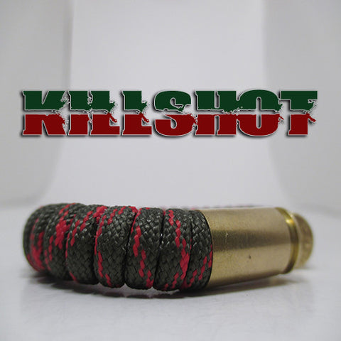 killshot paracord beararms bullet casings jewelry bracelets