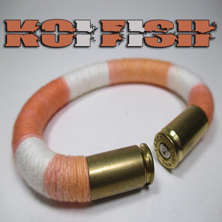 Koi Fish 100% cotton yarn beararms bullet casings jewelry bracelets
