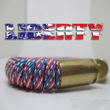 liberty paracord beararms bullet casings bracelet jewelry