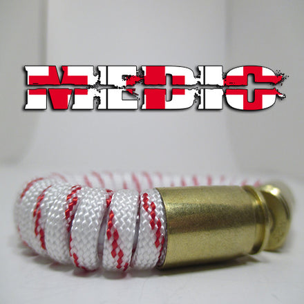 medic paracord beararms bullet casings jewelry bracelets