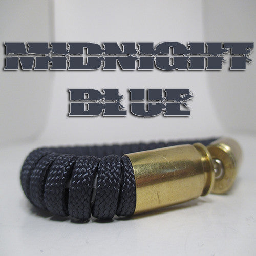 midnight blue paracord beararms bullet casing bracelet jewelry