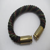 motherland paracord beararms bullet casings jewelry bracelets