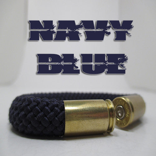 navy blue beararms bullet casings jewelry bracelets