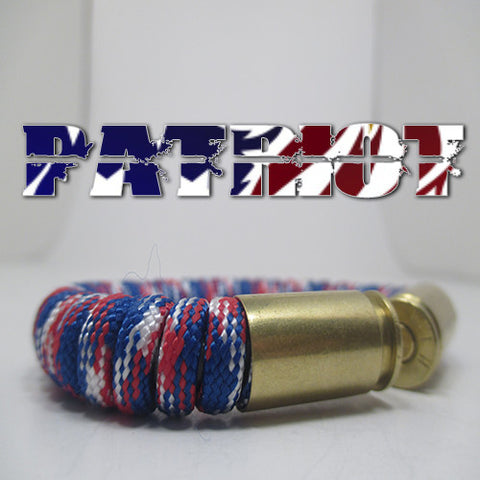 patriot paracord beararms bullet casings jewelry bracelets