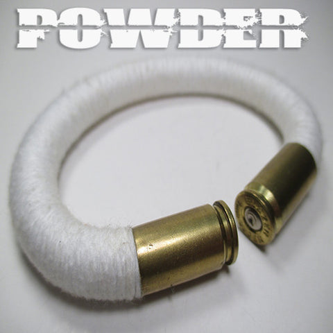 powder 100% cotton yarn beararms bullet casings jewelry bracelets