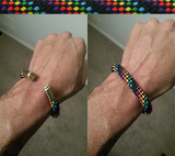 rainbow beararms bracelet jewelry