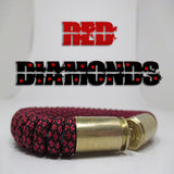 red diamonds paracord beararms bullet casings jewelry bracelets