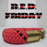 red friday beararms bullet casings jewelry bracelets