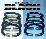 reflective black original beararms bullet casings bracelet jewelry