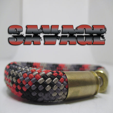 savage beararms bullet casing bracelet jewelry