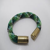 shamrock beararms bullet casing bracelet jewelry