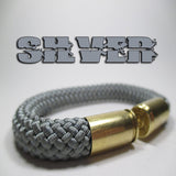 silver beararms bullet casings jewelry bracelets