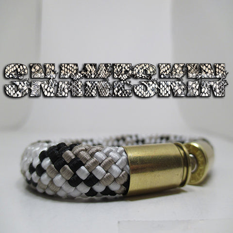 snakeskin beararms bullet casings jewelry bracelets