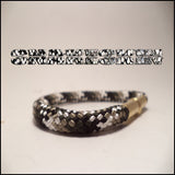 snakeskin beararms bracelet mini jewelry
