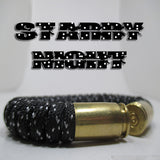 starry night paracord beararms bullet casings jewelry bracelets