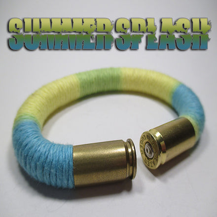 summer splash 100% cotton yarn beararms bullet casings jewelry bracelets
