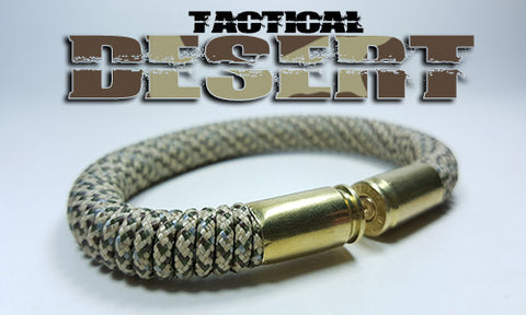 desert camo tactical 275 paracord beararms bullet casings bracelet jewelry