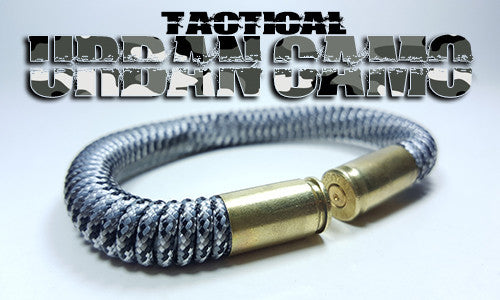 urban camo tactical 275 paracord beararms bullet casings bracelet jewelry