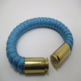 tarheel blue paracord beararms bullet casings jewelry bracelets