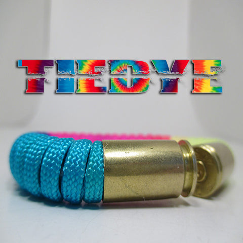 tiedye paracord beararms bullet casings jewelry bracelets