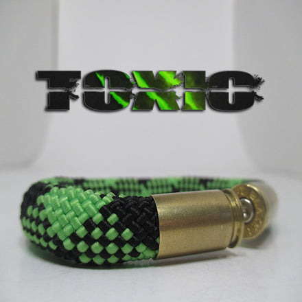 toxic beararms bullet casings jewelry bracelets