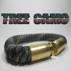 tree camo paracord beararms bullet casings jewelry bracelets