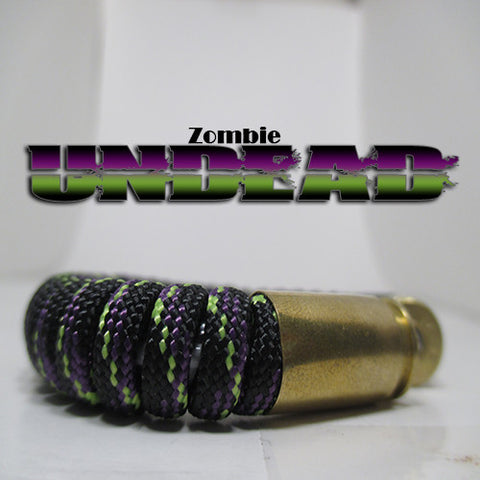 zombie undead paracord beararms bullet casings jewelry bracelets