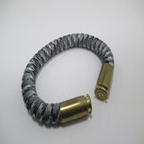 urban camo paracord beararms bullet casings jewelry bracelets