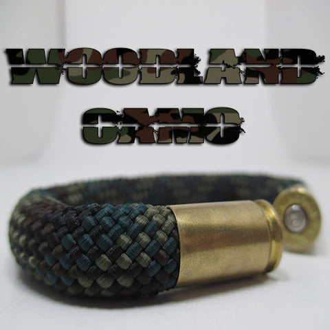 woodland camo beararms bullet casings jewelry bracelets