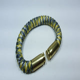 yellow camo paracord beararms bullet casings bracelet jewelry