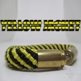 yellow jacket beararms bullet casings jewelry bracelets