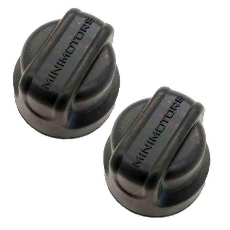 DT Mini Plastic Wheel Nut Caps - The E-Scooter Co.