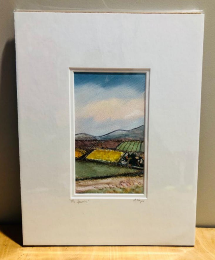 Andrea Hayes Textile Artist The Sperrins Mount 2