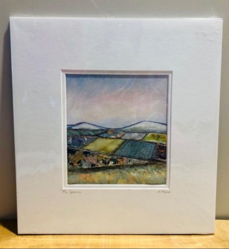 Andrea Hayes Textile Artist The Sperrins Square Mount