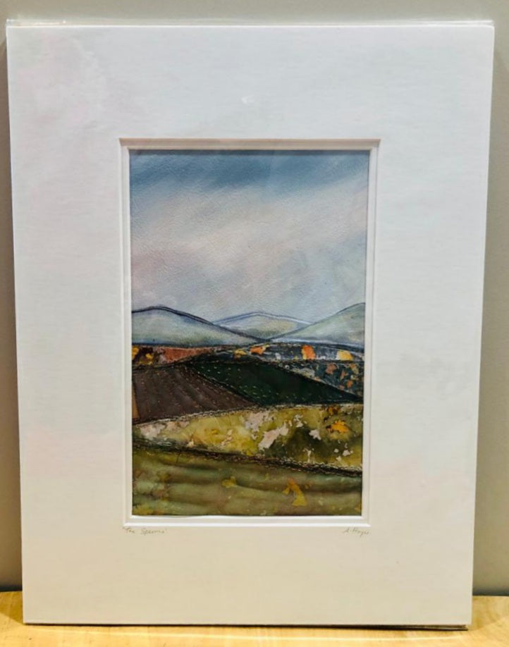 Andrea Hayes Textile Artist The Sperrins Mount Large