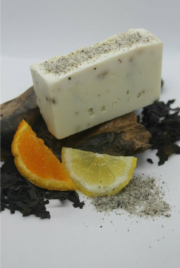 Bán íon Seaweed, Seasalt, Orange & Lemon Soap