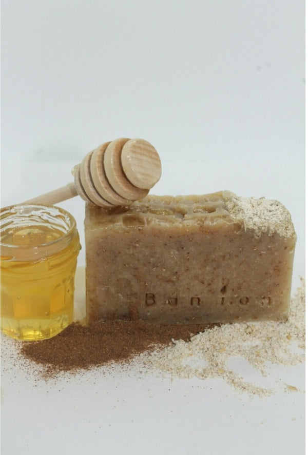 Bán íon Cinnamon, Honey & Oats Soap