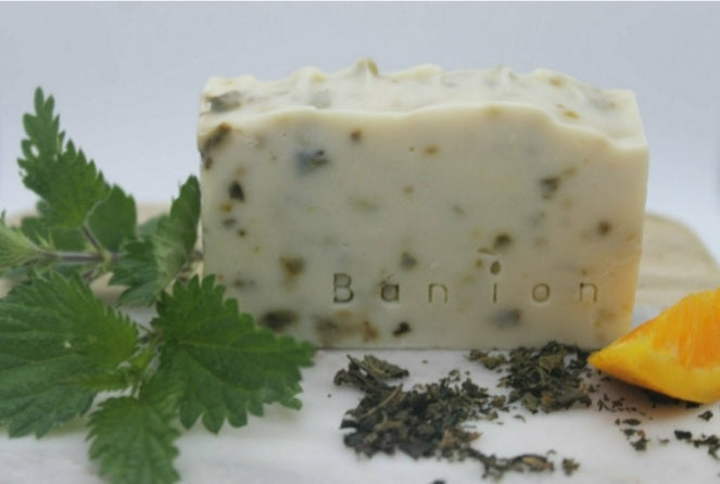 Bán íon Nettle, Patchouli & Orange Soap