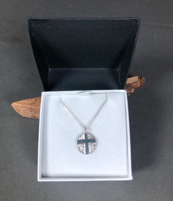 Handcrafted Jewellery by Geraldine Small Cross Pendant