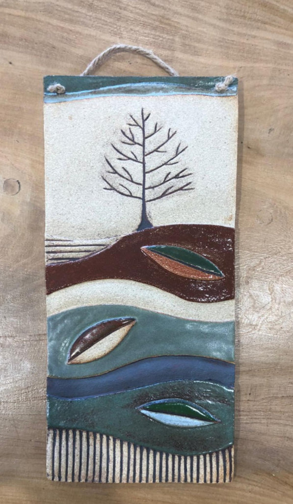 Michelle Butler Ceramics Autumn Plaque Large