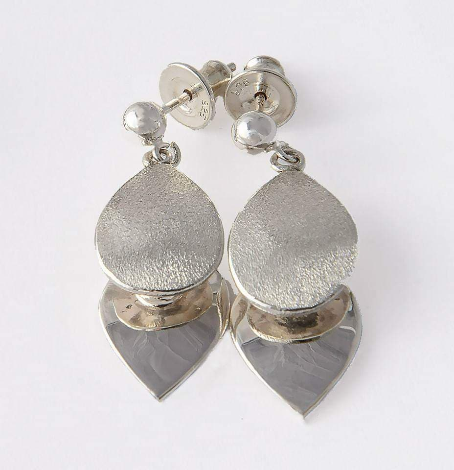 Handcrafted Jewellery By Geraldine Sterling Silver Dual Earrings
