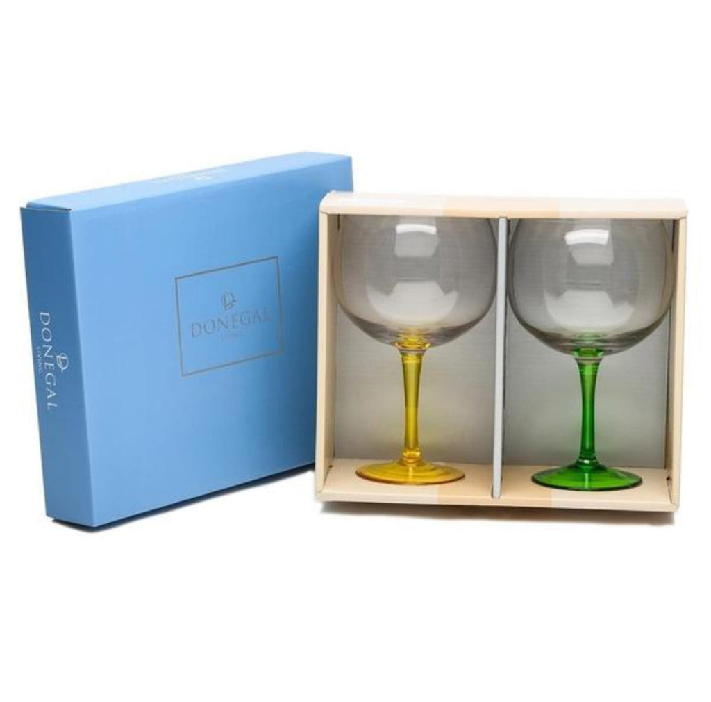 Donegal Living Set of Two Gin Glasses Samba