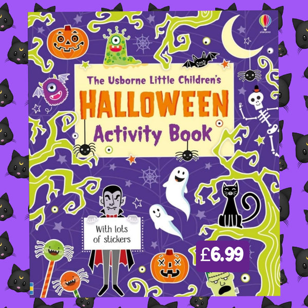 The Usborne Little Children's Halloween Activity Book