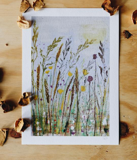 Ruth Osborne Art Bealtaine Summer Meadow Giclee Art Print