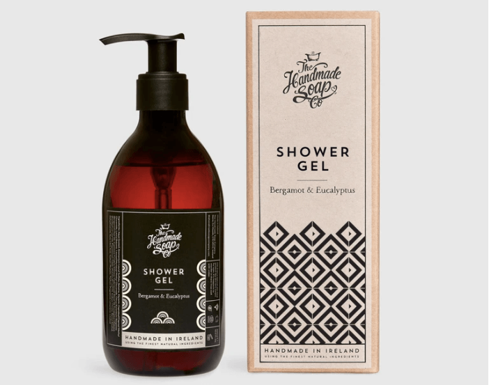 The Handmade Soap Company Shower Gel Bergamot & Eucalyptus 'Art Deco'