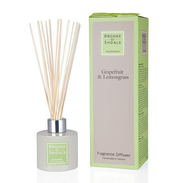 Brooke & Shoals - Grapefruit & Lemongrass Reed Diffuser