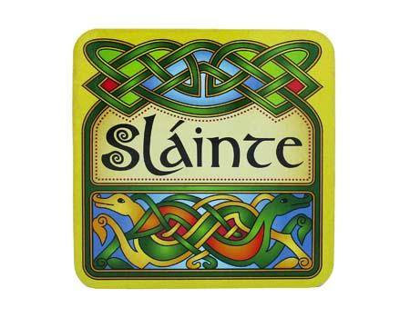 Clara Crafts Slainte Coaster