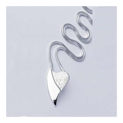 Handcrafted Jewellery By Geraldine Sterling Silver Cherish Pendant 1